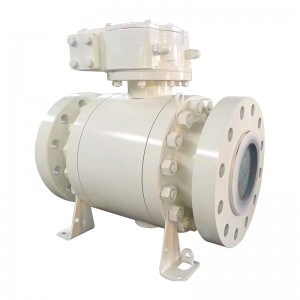 Factory wholesale No Lead Propress Ball Valve - Flange Ball Valve – Newsway
