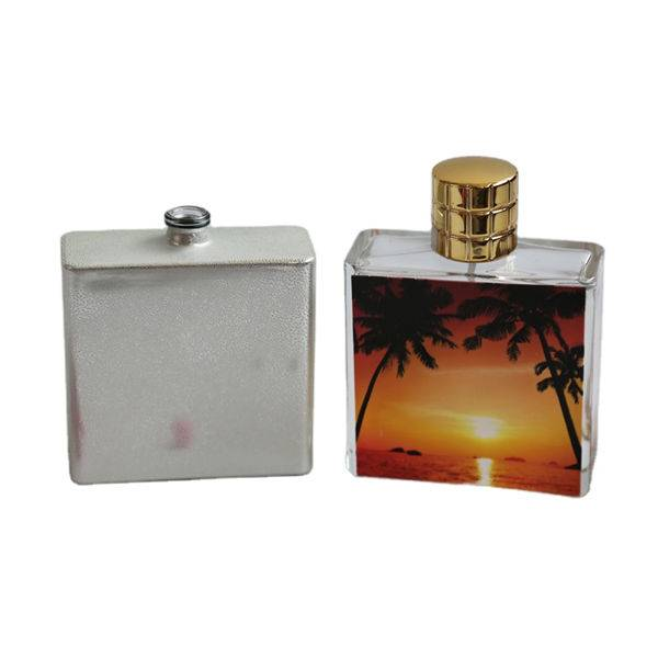 Good Wholesale Vendors Bottle Perfume Supplier - Rectangle perfume glass bottle 100ml – NTGP