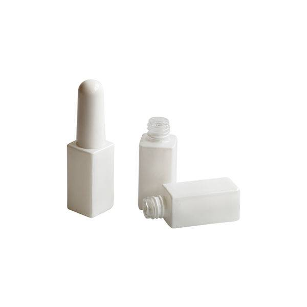 Cheap PriceList for Bottle For Nail Polish Manufacturer - White color nail polish bottle 7ml – NTGP