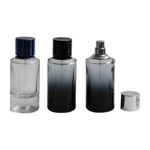 OEM manufacturer Glass Bottle For Sale - Supplier design high quality gradual coating cylinder empty perfume glass bottles – NTGP