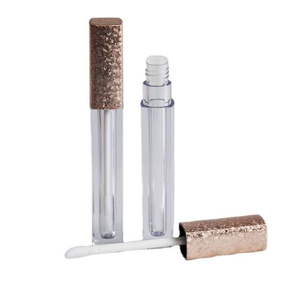 Hot selling custom empty clear lipgloss tube containers with brush