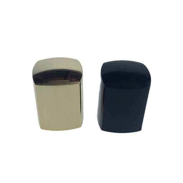Square UV cap for nail polish bottles