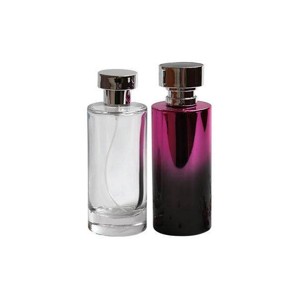 Hot selling cosmetic fragrance 100ml clear perfume glass spray bottles