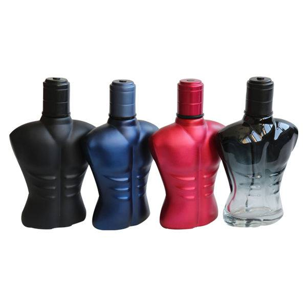 Man body perfume bottle 100ml glass