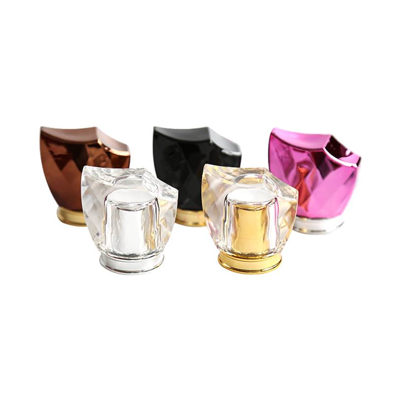 Factory custom luxury surlyn  caps for perfume bottles