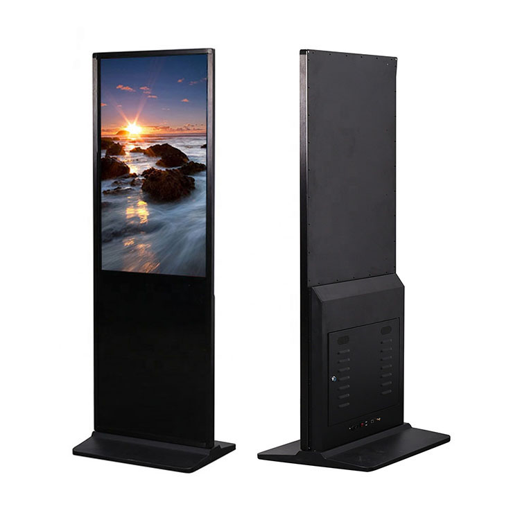 65 Inch Floor Standing Lobby Multi Touch Screen Digital Signage Kiosk advertising display