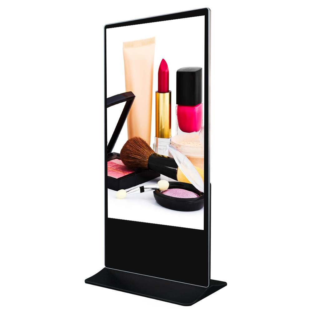 49 inch floor standee LCD advertising machine  digital signage totem,online wifi/LAN content management