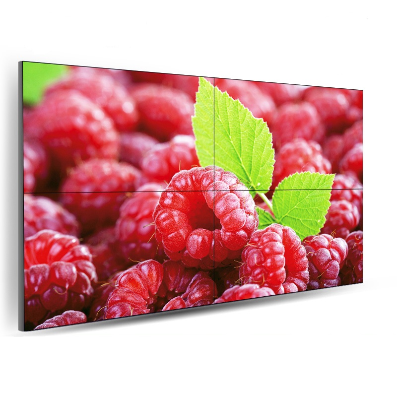 Interactive LCD video wall/splicing video wall HD video playback, quick installation, easy debugging, commercial advertising di