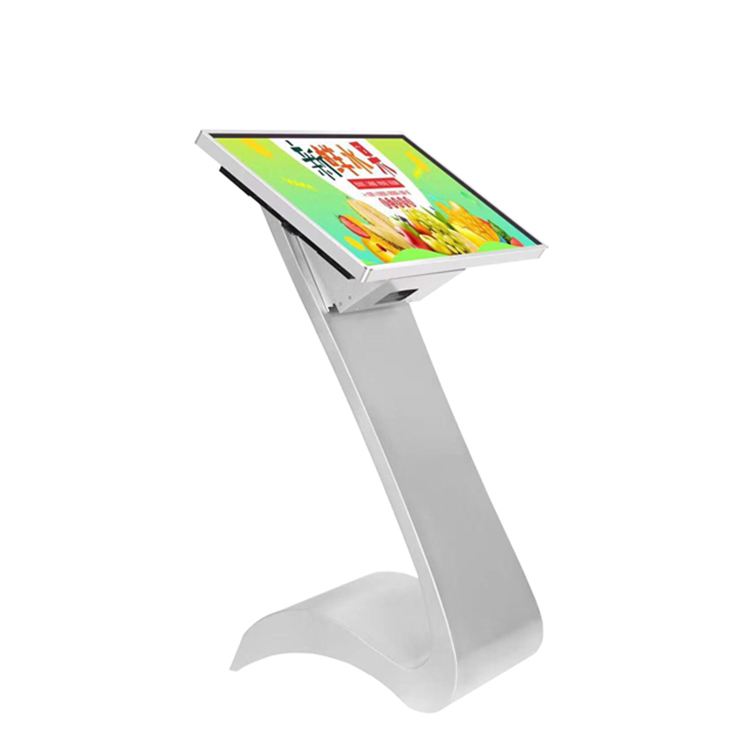 27 inch high brightness stand alone indoor lcd advertising display digital signage
