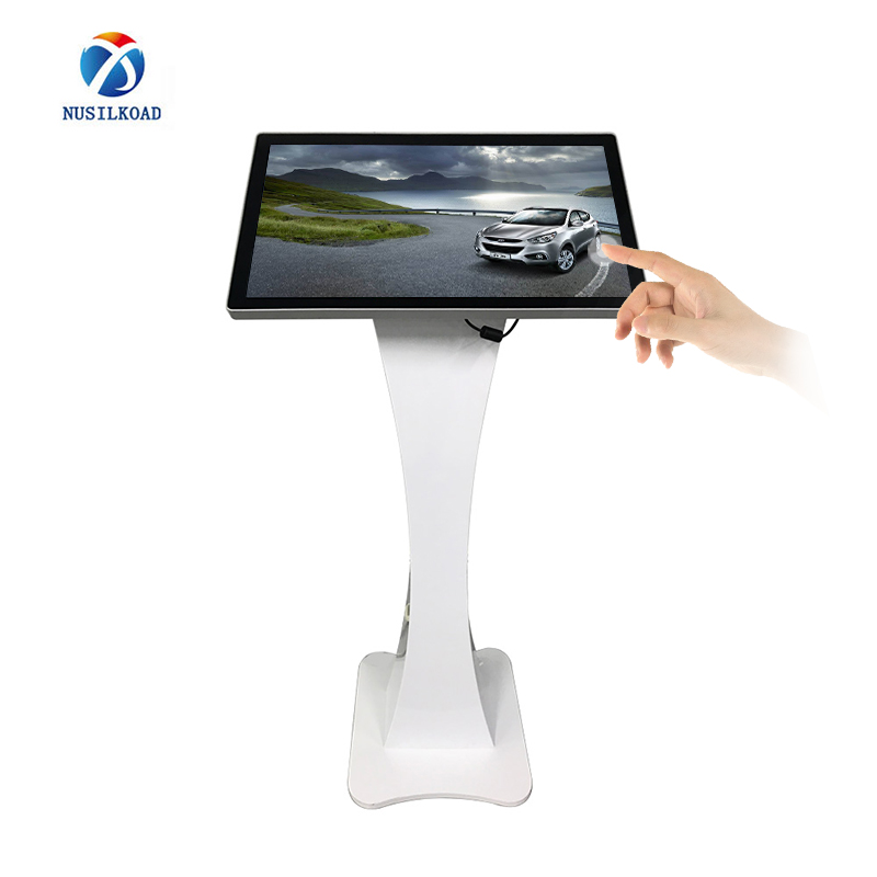 Manufacturer for Digital Display Touch Screen Kiosk - screen 27 inches small digital display  floor standing kiosk digital signage display – Nusilkoad
