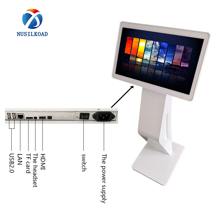 Factory wholesale Interactive Kiosk Display - 27 inch floor standing  lcd all-ine-one multi touch screen kiosk – Nusilkoad