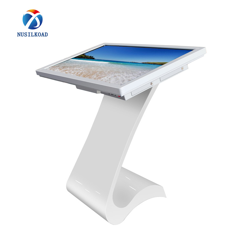 Factory Cheap Hot Kiosk Signage - 23.6 Inch LED Exhibition Stand Portable Ipad Kiosk,Touch Screen Kiosk – Nusilkoad