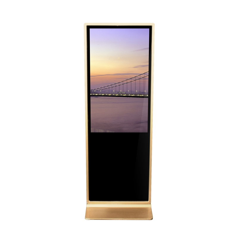 65 Inch Floor Standing Lcd advertising display Touch Screen Digital Signage Kiosk