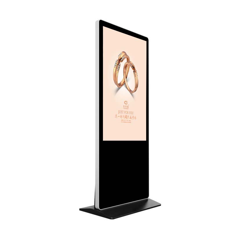 Large Size 65 Inch Floor Standing Lobby Multi Touch Screen Digital Signage Kiosk LCD display