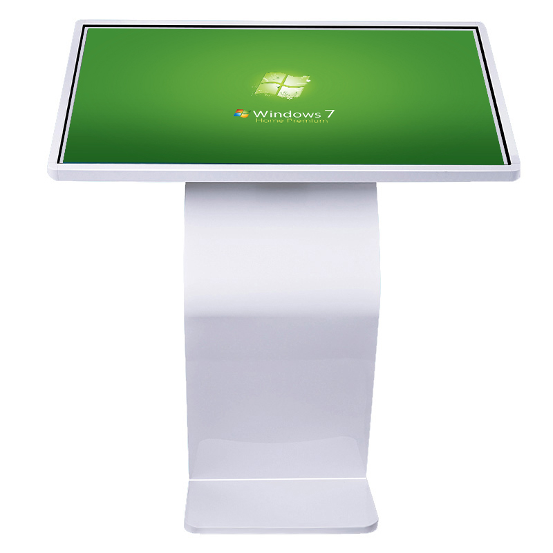 Indoor Horizontal interactive Touch Screen Kiosk 350cd/m2 Brightness 1920×1080 Resolution