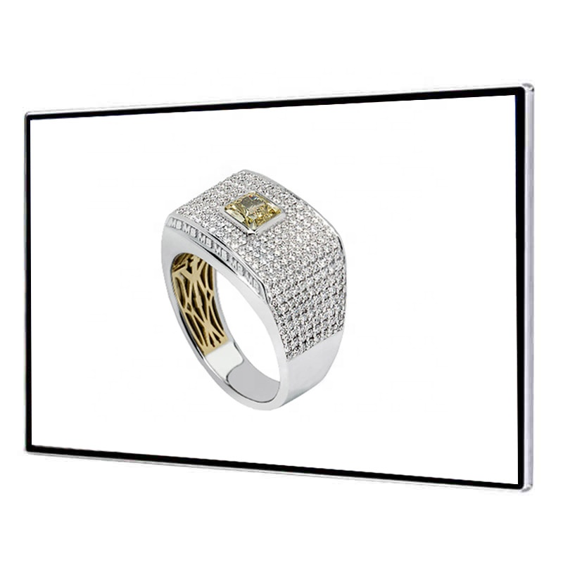65 inch jewellery wall mount  LCD Advertising display screen, windows/Android for option