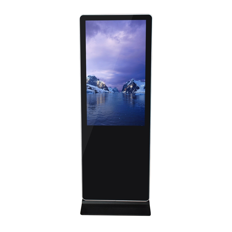 2019 hotest! Large Size 65 Inch Floor Standing Lobby Multi Touch Screen Digital Signage Kiosk