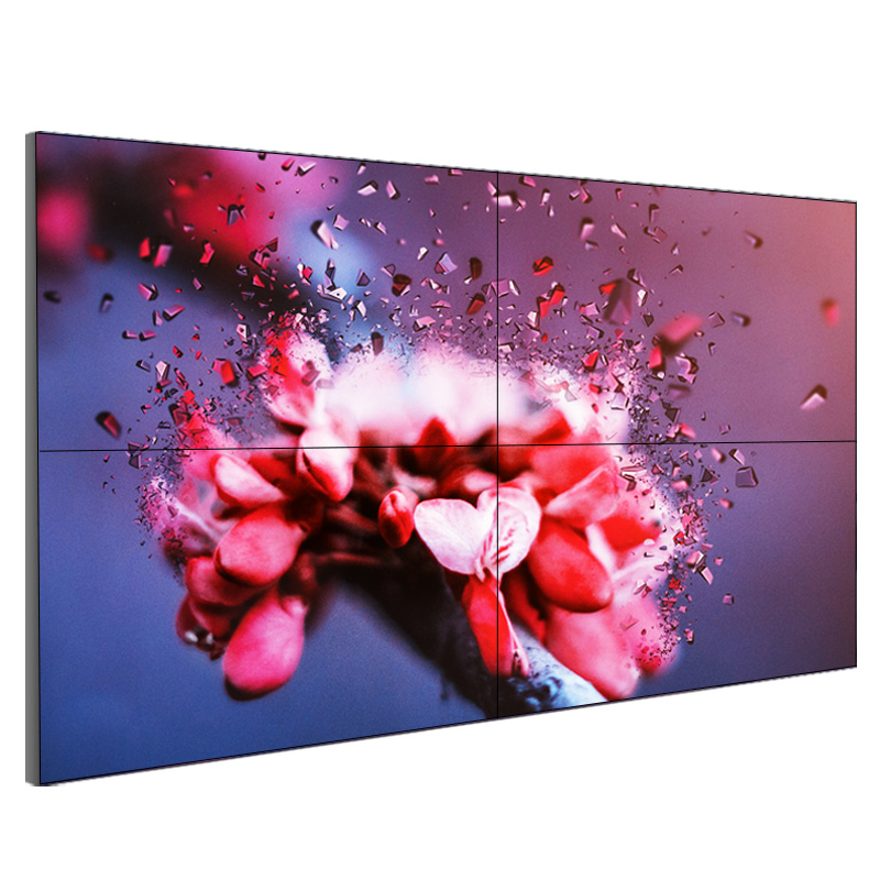 Best quality Led Video Wall China - Bezel-less LCD Digital Video Wall System, LED-illuminated rear projection video wall Display – Nusilkoad