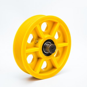 nylon pulley designed for elevator