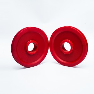 Wholesale Price China Nylon Pulley Wheel Manufacturer - Nylon cliver pulley at best price – H&F.nylon