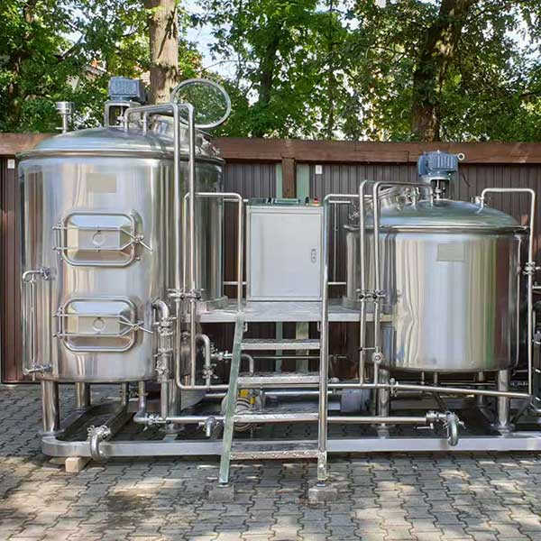 China wholesale Beer Brewery Equipment - 500L Steam Brewing system – Obeer