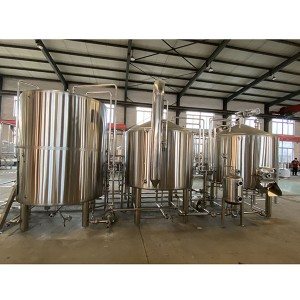 Good Wholesale Vendors 7bbl Direct Fire Brewery Equipment - 1500L Steam Brewing system – Obeer