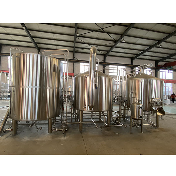 China Manufacturer for Beer Making Machine - 1500L Steam Brewing system – Obeer