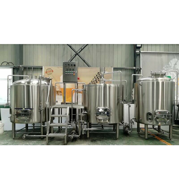 2020 Latest Design Glycol Jacket Conical Fermenter - 2000L Steam Brewing system – Obeer