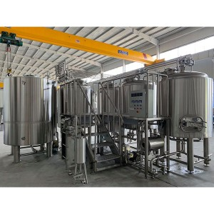 Renewable Design for Beer Brewery System - 5000L Steam Brewing system – Obeer