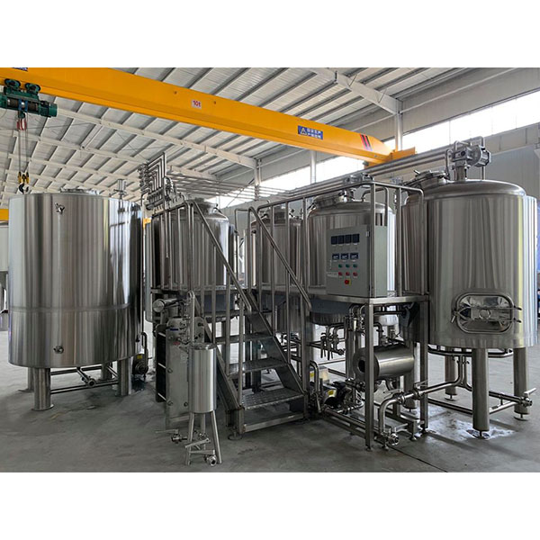 Well-designed Stainless Steel Fermenter - 5000L Steam Brewing system – Obeer Featured Image