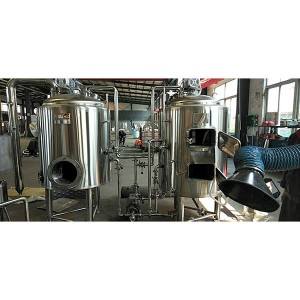 Ordinary Discount Stainless Steel Beer Fermentation Tank - 3BBL Steam Brewing system – Obeer