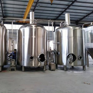 Professional Design Brewery Machine - 500L Steam Brewing system – Obeer
