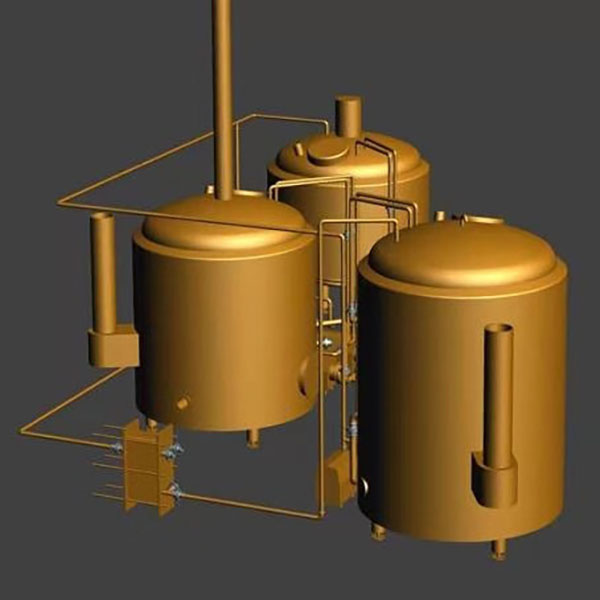Chinese Professional 1000l Beer Brewing Equipment - 10BBL Steam Brewing system – Obeer