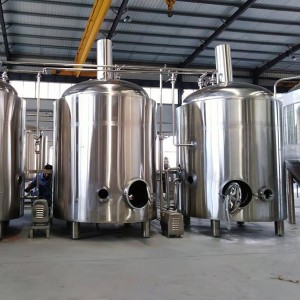 18 Years Factory 200 Liter Hotel Brewery - 15BBL Steam Brewing system – Obeer