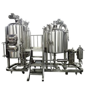 Factory made hot-sale Vessel - 500L Electric Heating Brewing system – Obeer