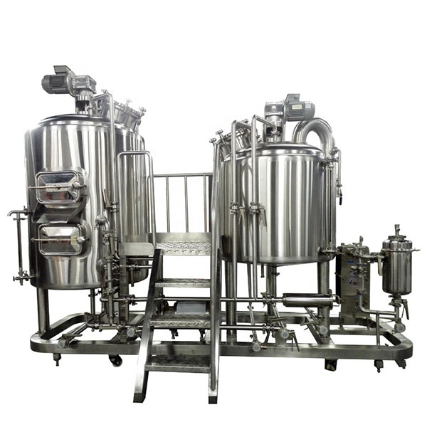 China New Product Beer Bottling Machine - 500L Electric Heating Brewing system – Obeer