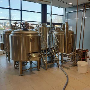 Wholesale Dealers of Beer Mash Tun 30l - 300L Electric Heating Brewing system – Obeer