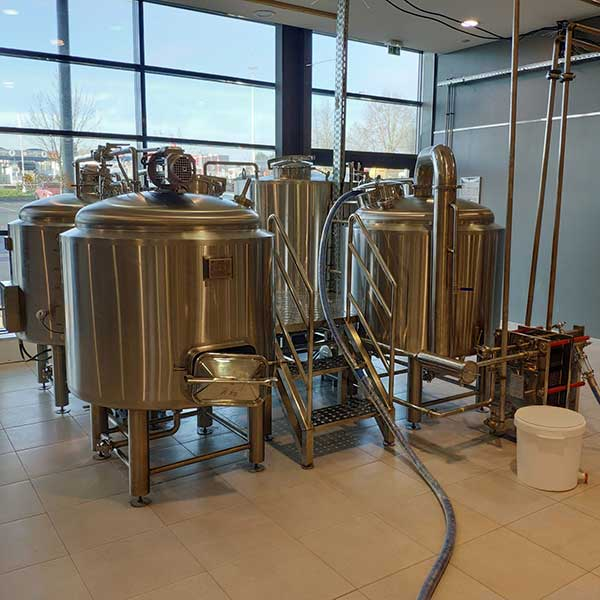 Factory supplied Pressure Vessel - 300L Electric Heating Brewing system – Obeer