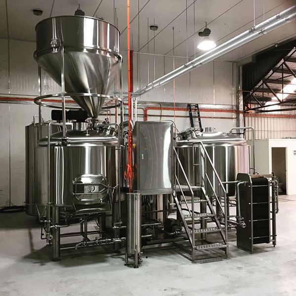 China Gold Supplier for Draft Beer Machine For Sale - 1000L Stainless Steel Brewhouse  – Obeer