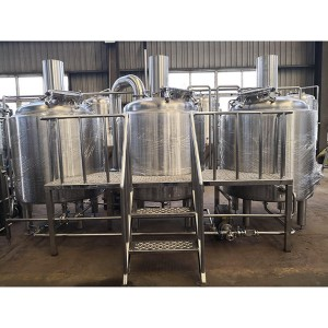 Factory Price For 200l Micro Brewery - 1000L Stainless Steel Brewhouse  – Obeer