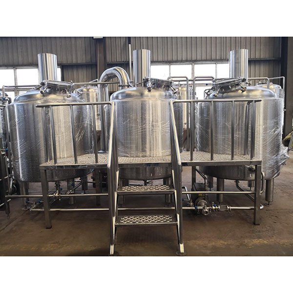 China Gold Supplier for Draft Beer Machine For Sale - 1000L Stainless Steel Brewhouse  – Obeer Featured Image