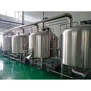 Best-Selling Beer Brewing Machine - 2000L Stainless Steel Brewhouse  – Obeer