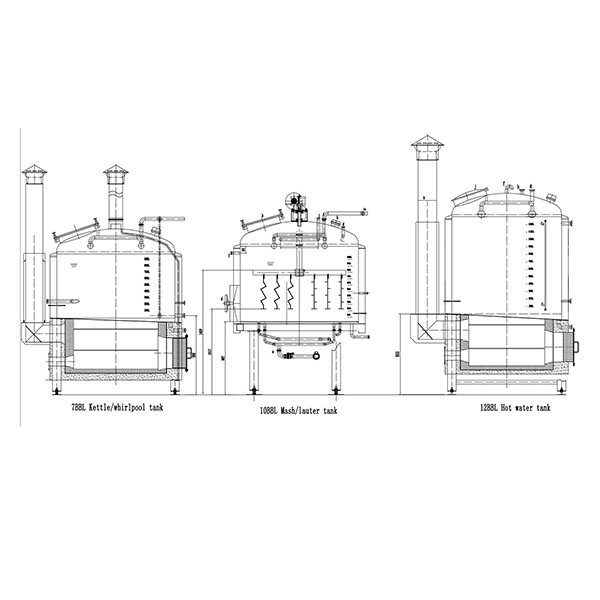 High reputation Brewery Equipment Beer Brewing - 10BBL Steam Brewing system – Obeer