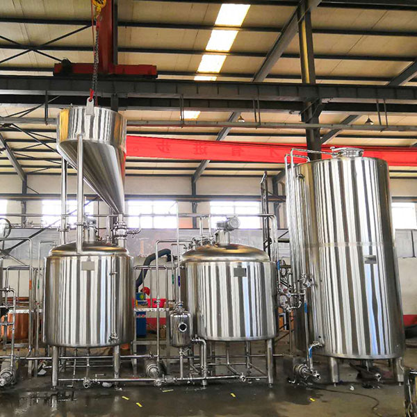 New Arrival China Beer Brewing Equipment 30l - 1000L Three vessel brewhouse, mash, lauter tank, kettle&whirlpool – Obeer