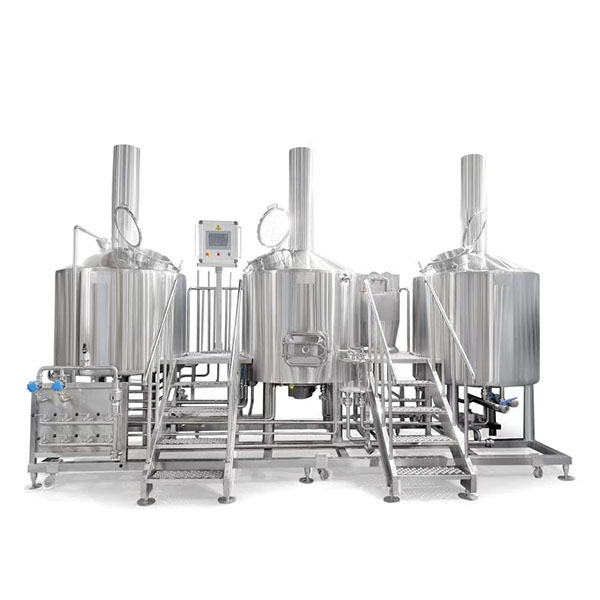 Bottom price Non Alcoholic Beer Equipment - Three vessel brewhouse, mash, lauter tank, kettle&whirlpool – Obeer