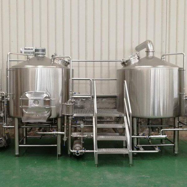 Reasonable price Brew Kettle - 1000L 2vessel brewhouse, mash&lauter tank, kettle&whirlpool – Obeer
