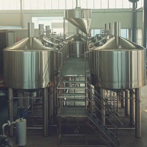 Personlized Products 30 Bbl Fermenter - 5000L four vessel brewhouse: mash, lauter tank, kettle, Whirlpool – Obeer