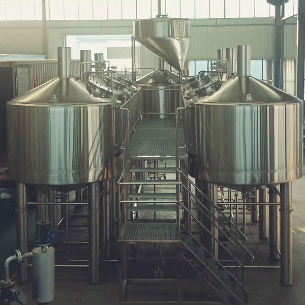 Factory wholesale Brew Kettles Used - 5000L four vessel brewhouse: mash, lauter tank, kettle, Whirlpool – Obeer