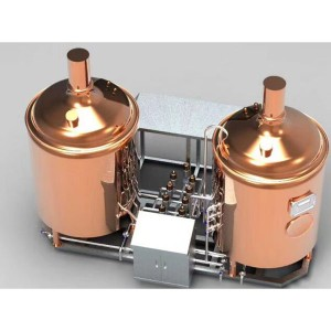China Manufacturer for Beer Making Machine - Copper Brewery – Obeer