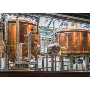Factory wholesale Copper Beer Equipment - 1000L Copper Brewery  – Obeer